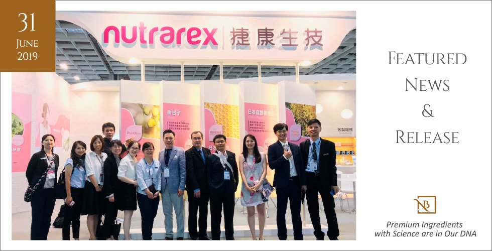 As Biotech Exhibition drew to its close, Nutrarex Biotech never stops serving you